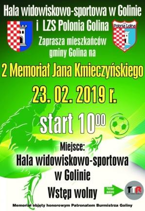 Sportowy weekend: W Golinie zagrają Memoriał J. Kmieczyńskiego