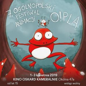 Pokazy filmowe - 7. Ogólnopolski Festiwal Animacji O!PLA