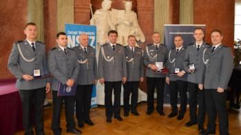 Kryształowe Gwiazdy dla kolskich policjantów za ratowanie życia