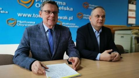 Poseł T. Nowak zachęca górników do założenia stowarzyszenia