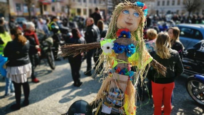 Była parada i topienie marzanny. Motocykliści przywitali wiosnę