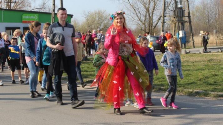 Wiosna odwiedziła Posadę, a mieszkańcy ją ciepło powitali