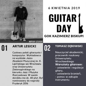 Kazimierz Biskupi. GOK zaprasza na warsztaty i koncerty gitarowe