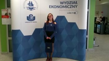 Uczennica ZSEU finalistką Olimpiady Spedycyjno-Logistycznej