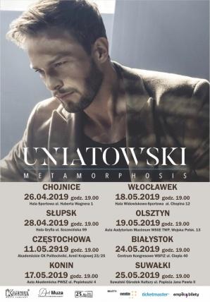 Koncert Sławka Uniatowskiego z zespołem