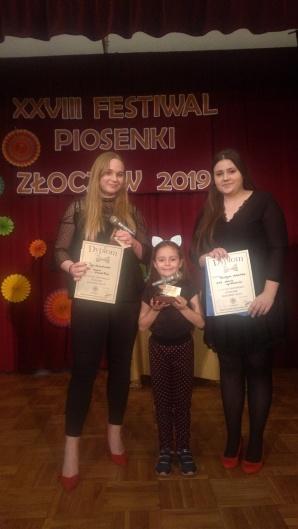 Młode wokalistki z Konina zdobyły Grand Prix festiwalu w Złoczewie