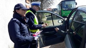 Konińscy policjanci kontrolowali na drogach w Ślesinie i Skulsku