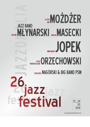 Maj to czas na Jazzonalia, czyli coroczne święto jazzu w Koninie