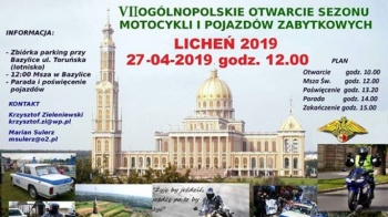 Otwarcie sezonu motocyklowego w Licheniu