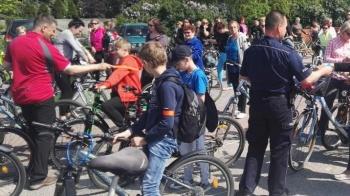 Sompolno. Prawie 200 uczestników wyruszyło w rajd rowerowy
