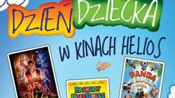 Weekend Dnia Dziecka w kinach Helios 31 maja – 2 czerwca 2019
