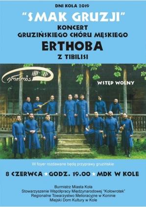 Koncert Gruzińskiego Chóru Męskiego ERTCHOBA