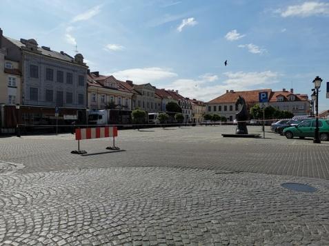 Zmiany w ruchu na placu Wolności. Przygotowania do festiwalu