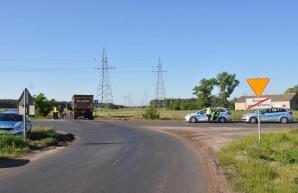 Wierzbinek. Zginął 61-motorowerzysta potrącony przez ciężarówkę