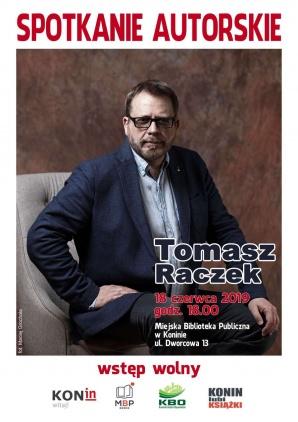 Konin lubi książki 4. Spotkanie autorskie z Tomaszem Raczkiem