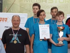 Mistrzostwa Polski Młodzików. Srebro drużynowo dla KKSz Konin