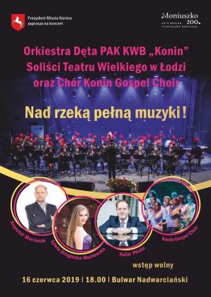 """""""Nad rzeką pełną muzyki"""" - koncert na bulwarze nadwarciańskim"""
