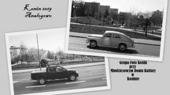 Konin dawniej i dziś. Zdjęcia wykonane aparatami analogowymi