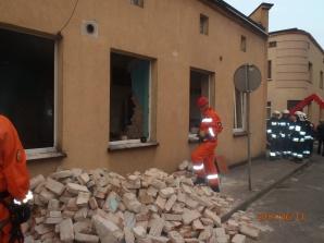 Wybuch gazu w budynku wielorodzinnym. Trzy osoby ranne