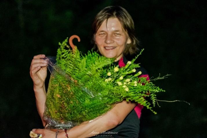 Szukali kwiatu paproci. Ponad 70 uczestników biegu nocnego