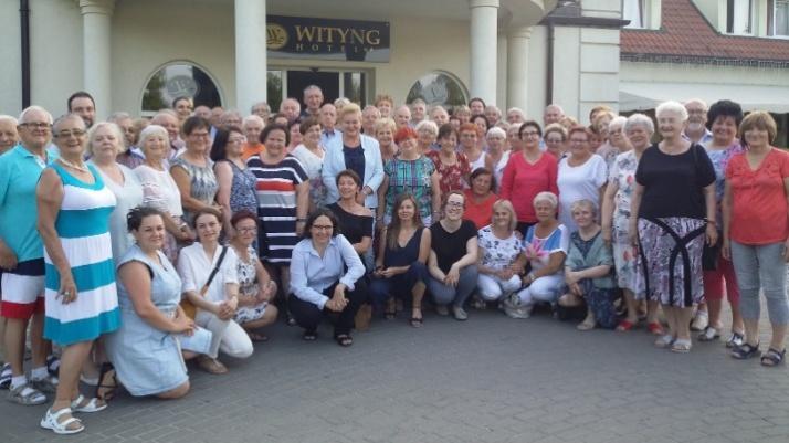 Rady Seniorów z całej Wielkopolski przyjechały do Mikorzyna