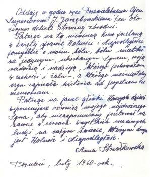 Pamiątka poznańskiego Czerwca'56 - koszulka R. Strzałkowskiego