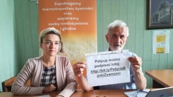 Apelują o podpisywanie petycji ws. ustawy o marnowaniu żywności