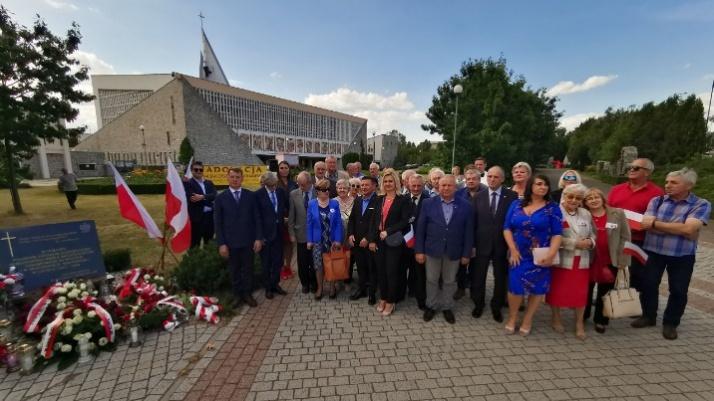 Konin. Podwójne obchody 76. rocznicy ludobójstwa na Wołyniu