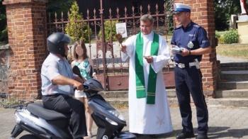 """To dziesiąta edycja wspólnej akcji """"Ze św. Krzysztofem na drodze"""""""