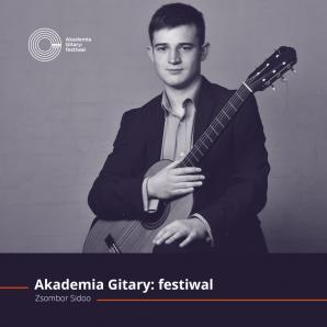 ZSOMBOR SIDOO z Węgier - koncert w ramach Akademii Gitary