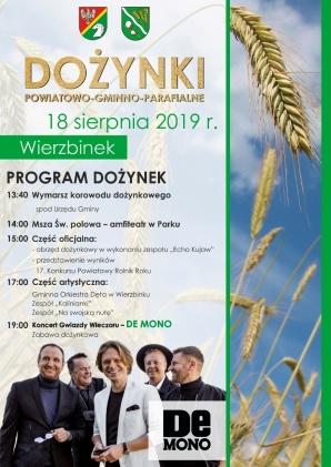 Wierzbinek. Rolnicy powiatu konińskiego uczczą Święto Plonów
