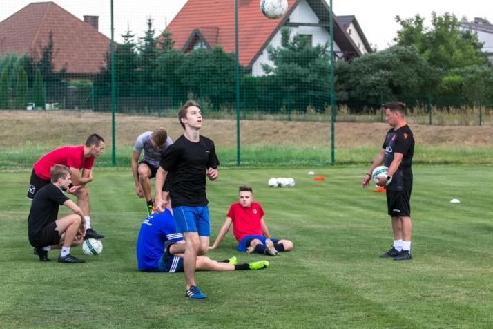 Trener z Dundee United prowadził zajęcia dla Warty Karlos Kramsk