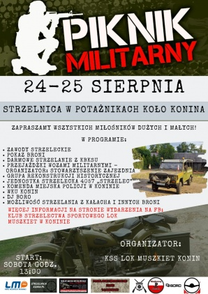 KSS LOK Muszkiet i piknik militarny na strzelnicy w Potażnikach
