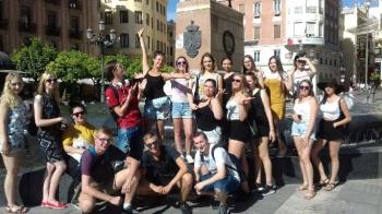 Uczniowie ZSEU w Żychlinie wrócili z Hiszpanii. Uczyli się zawodu