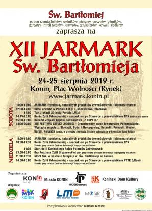Jarmark rzemiosła w Koninie. LM.pl zaprasza na jubileuszowy tort