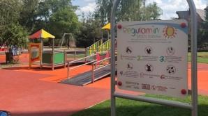 Konin. Plac zabaw dla dzieci z niepełnosprawnościami gotowy!