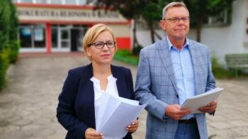 Posłowie w prokuraturze z zawiadomieniem ws. R. Popkowskiego