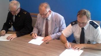 Porozumienie podpisane. OSP Grąblin będzie w systemie KSRG
