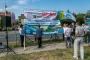 """Protest przed KWB. ,,Niech Solorz wycofa się z nowych odkrywek"""""""