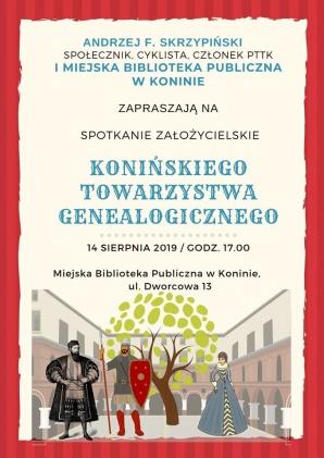Konin. W bibliotece powstaje stowarzyszenie miłośników genealogii