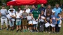 Młodzi wędkarze nad stawem. Trzecie zawody w Lubomyślu