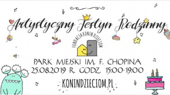 Konin. Artystyczny Rodzinny Festyn na pożegnanie wakacji