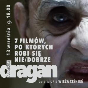 """Noc Kultury 2019: ANDRZEJ DRAGAN """"7 filmów, po których robi się nie/dobrze"""""""