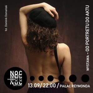"""Noc Kultury 2019: otwarcie wystawy """"OD PORTRETU DO AKTU"""""""