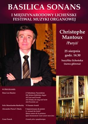 To już ostatni koncert festiwalu muzyki organowej w Licheniu