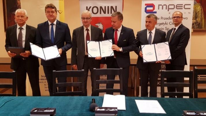 Konin. Wieloletnia umowa na ciepło dla miasta podpisana