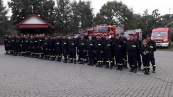 Sompolno. Manewry jednostek Ochotniczych Straży Pożarnych