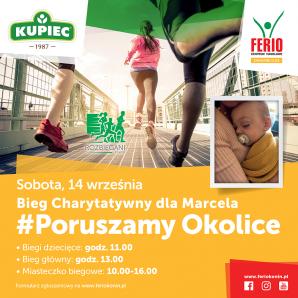 Sportowy weekend: Bieg dla Marcela i judo niepełnosprawnych