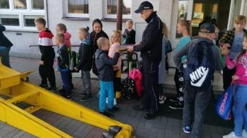 Przyjma. Rozmawiali o bezpieczeństwie dzieci w drodze do szkoły