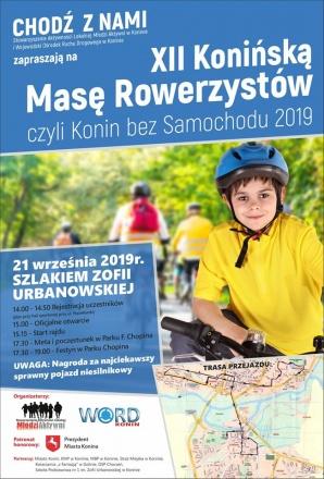 Konińska Masa Rowerzystów pojedzie szlakiem Zofii Urbanowskiej
